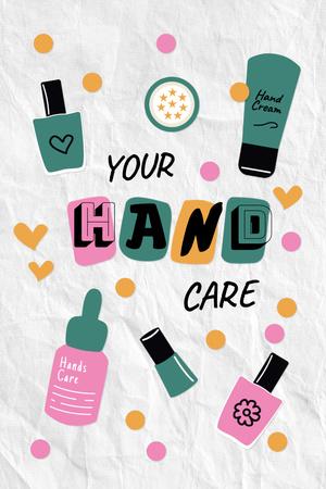 Skincare for Hands Offer Pinterest – шаблон для дизайна