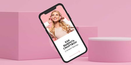 Smartphone brands review Image – шаблон для дизайна