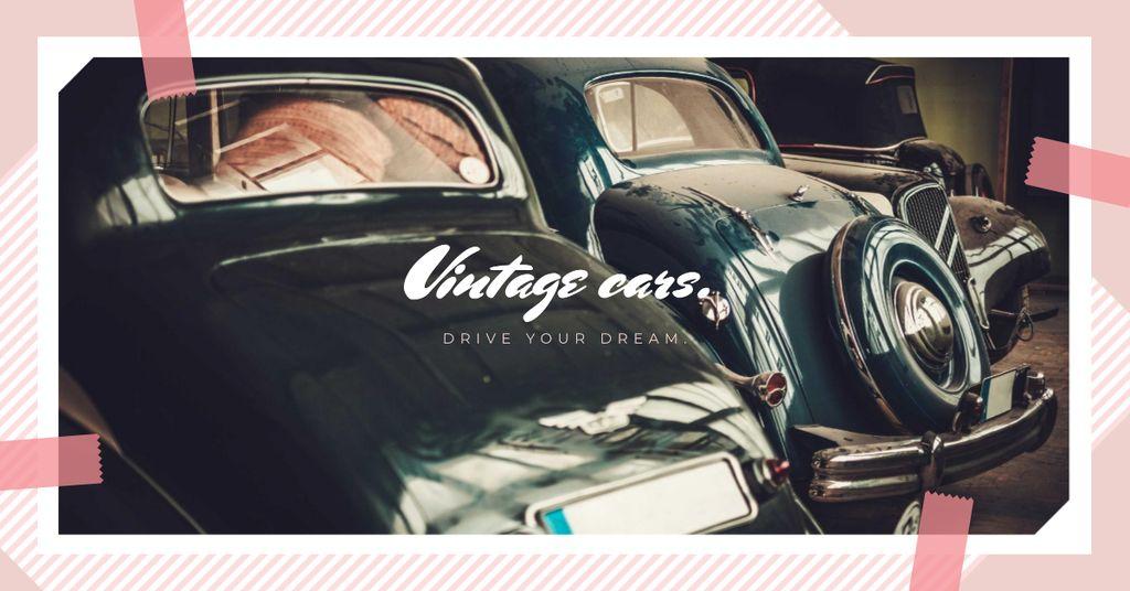 Shiny vintage cars — Crear un diseño