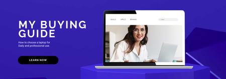 Online Guide offer Tumblr – шаблон для дизайну