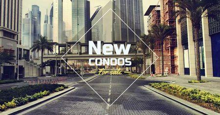 Real Estate Investment with Modern City Facebook AD – шаблон для дизайна