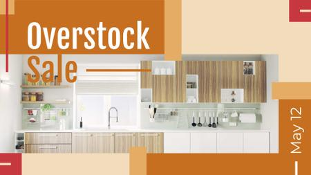 Template di design Kitchen Design Studio Ad Modern Home Interior FB event cover