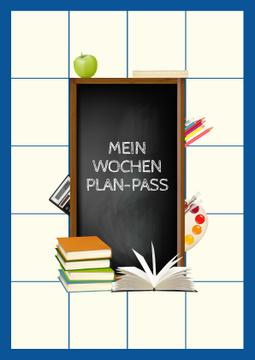 School Week Plan with Stationery