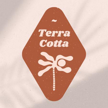 Travel Agency Offer with Palm Tree Illustration Logo – шаблон для дизайну