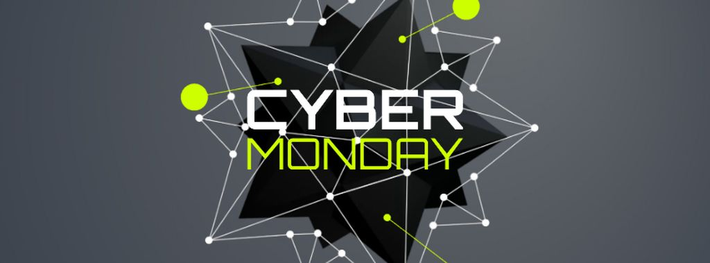 Cyber Monday Sale spiky digital sphere —デザインを作成する