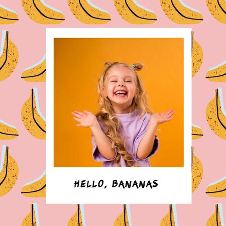 bananas Album Coverデザインテンプレート