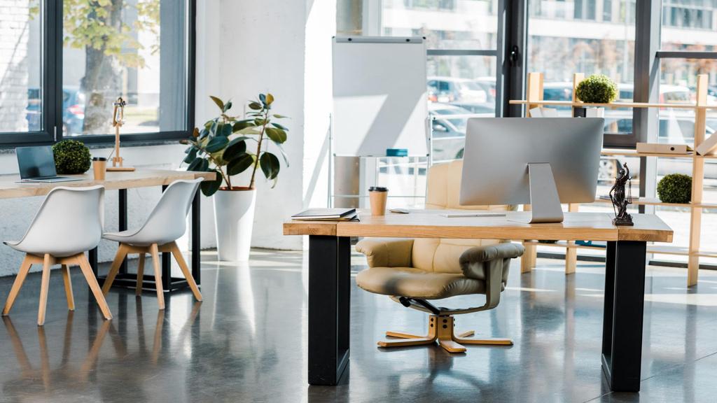 Modern Cozy light Office — Maak een ontwerp