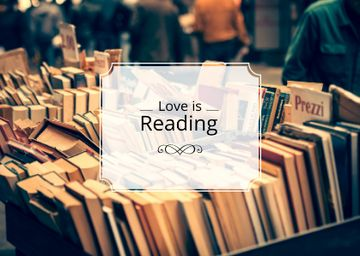 Quote about reading with Bookstore