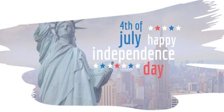 Plantilla de diseño de USA Independence Day Image