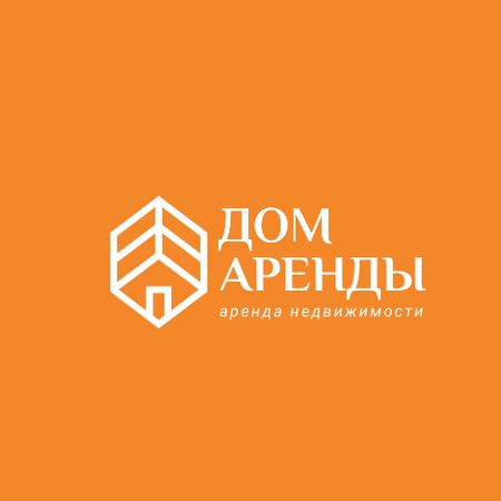 Property Rental with House Icon Logo – шаблон для дизайна
