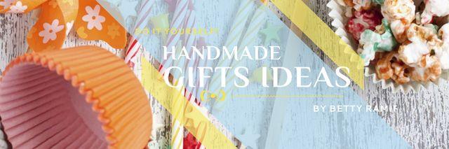 Birthday Party Invitation Bows and Ribbons Twitter – шаблон для дизайна