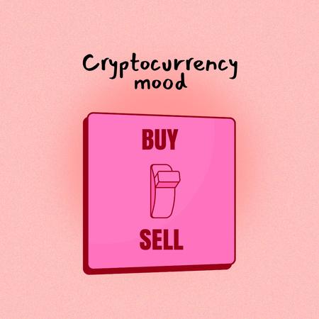 Modèle de visuel Funny Joke about Cryptocurrency - Instagram
