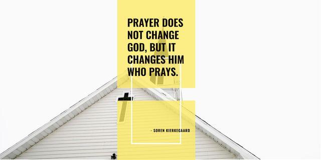 Religion citation about prayer Image – шаблон для дизайна