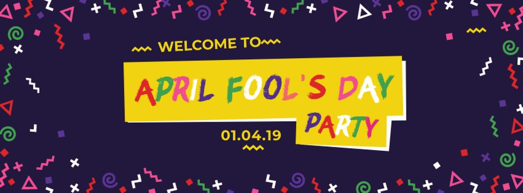 April Fools Day Party Annoucement — Створити дизайн