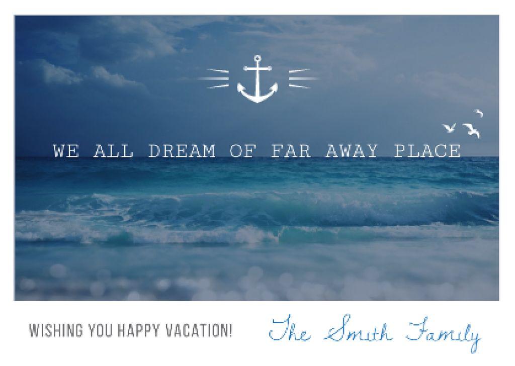 Motivational travel quote poster — Crea un design
