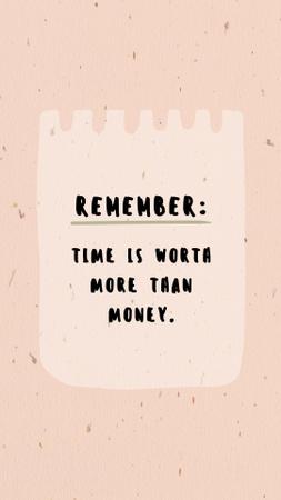 Plantilla de diseño de Money Memo note Instagram Story