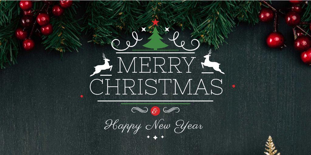 Christmas greeting card — Crea un design