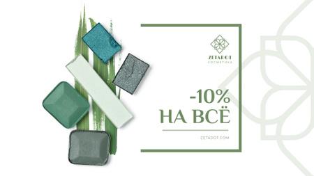 Sale Offer with Natural Cosmetics Full HD video Tasarım Şablonu