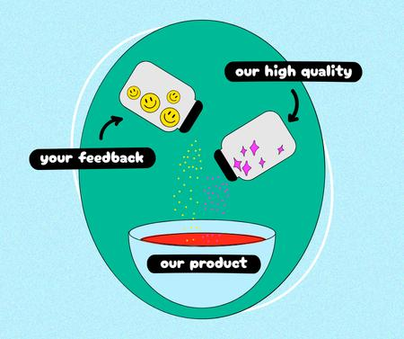 Perfect Business Product Humorous Concept Facebook Modelo de Design