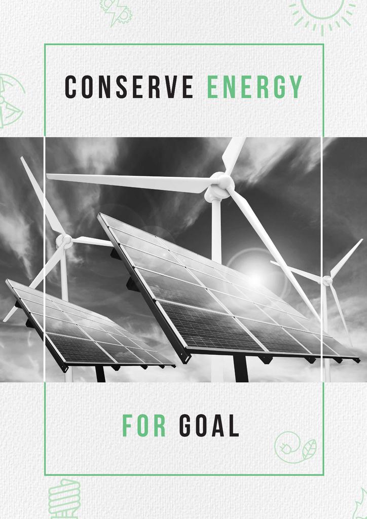 Concept of Conserve energy for goal — Modelo de projeto