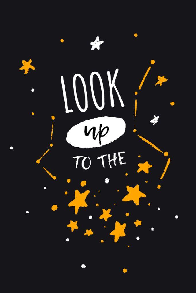 Astrology Inspiration with Cute Constellations Tumblr – шаблон для дизайна