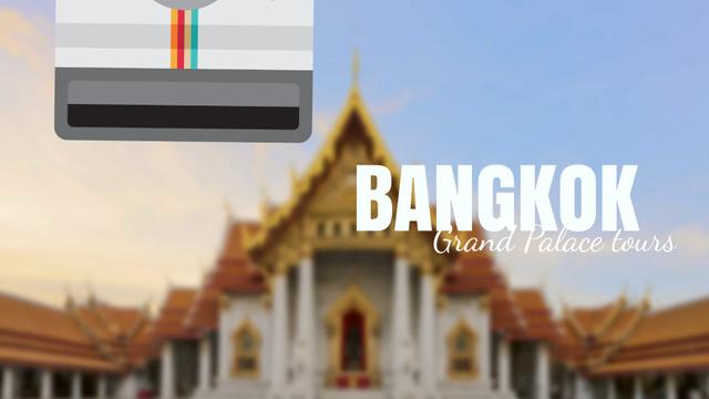Visit Famous authentic Bangkok Full HD video – шаблон для дизайна