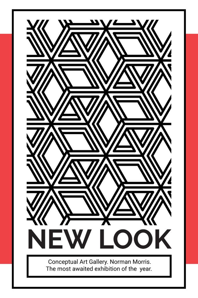 New look gallery exhibition — Modelo de projeto