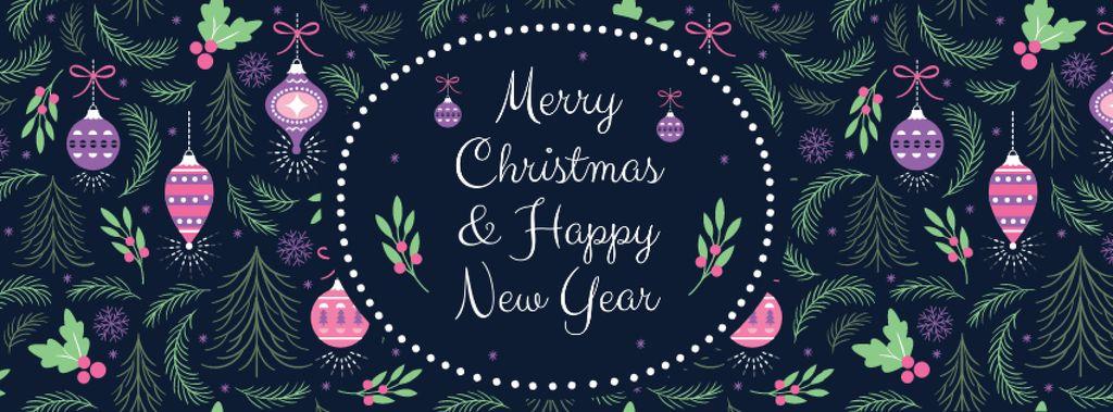 Merry Christmas Greeting — Modelo de projeto