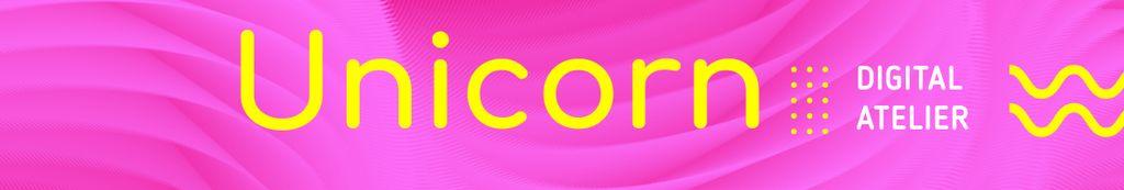 Digital Agency profile in pink — Create a Design