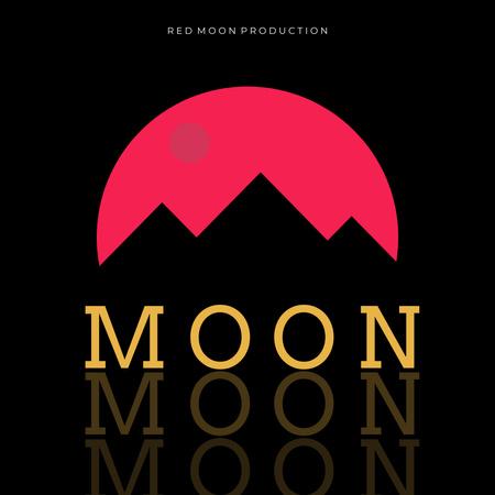 Modèle de visuel Music Album Promotion with Mountains Silhouette - Instagram