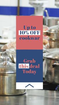 Kitchenware Discount Sale Offer