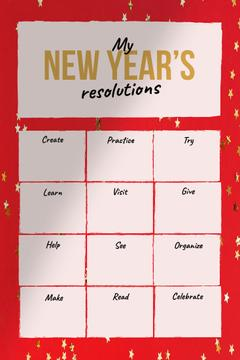 New Year's inspirational Resolutions
