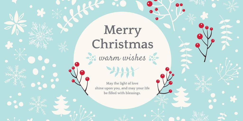 Merry Christmas card — Créer un visuel