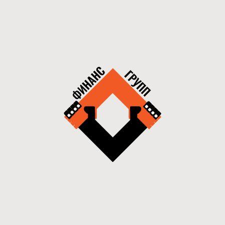 Business Company with Simple Icon Logo – шаблон для дизайна