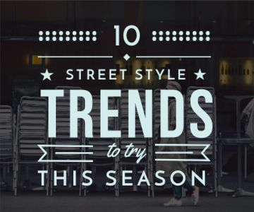 street style trends background