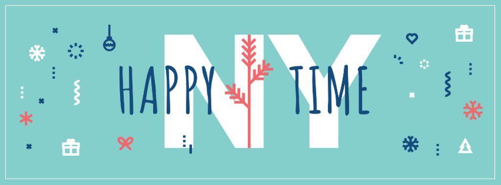 Happy New Year Greeting — Crear un diseño