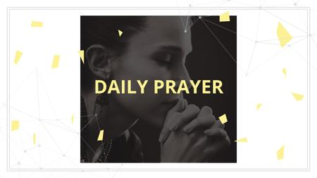 Plantilla de diseño de Young Woman praying in Church Youtube