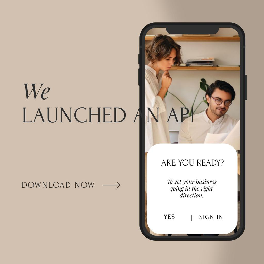 Business Team Launching App — Maak een ontwerp