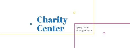 Charity Center Services Offer Facebook cover Design Template