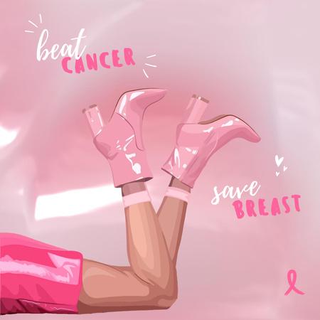 Pink Instagram – шаблон для дизайну