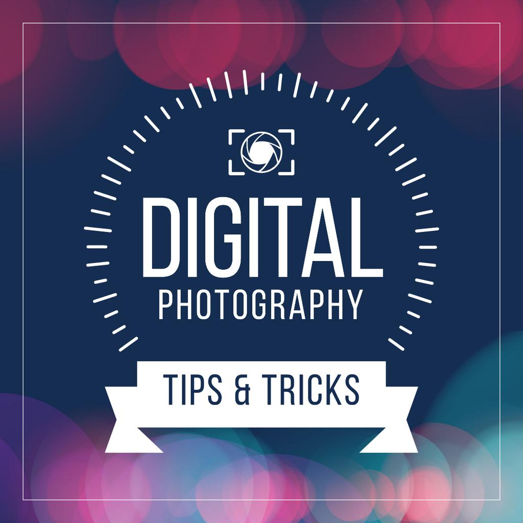 Digital photography tips with Camera — Створити дизайн