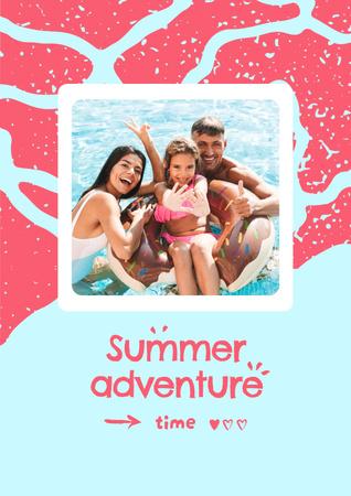 Template di design family Poster