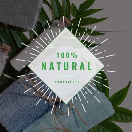 Natural Handmade Soap Shop Ad Instagram AD – шаблон для дизайна