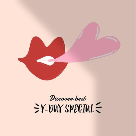 Template di design Valentine's Day Special Discount Offer Instagram