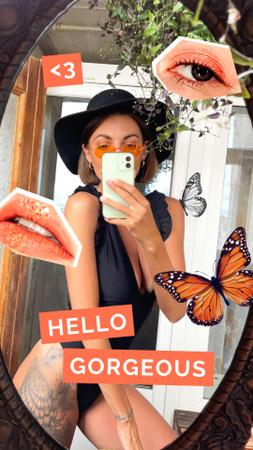 Plantilla de diseño de beauty Instagram Video Story