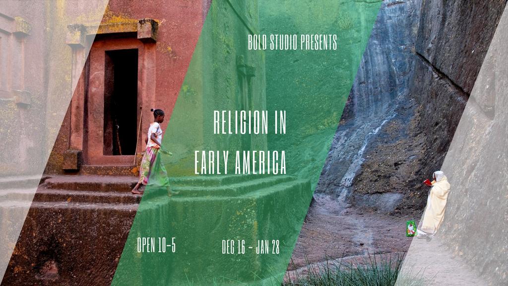 Template di design Christian Religion Quote on Church background FB event cover