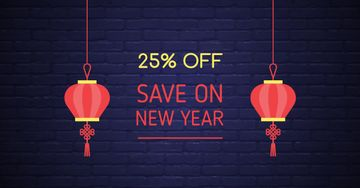 Chinese New Year Discount Offer