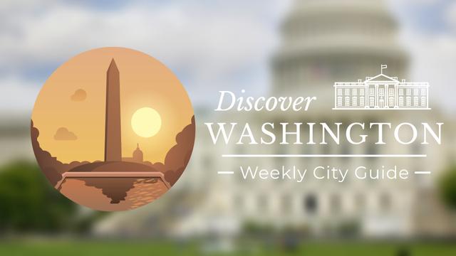 Designvorlage Washington Monument Travelling Attraction für Full HD video