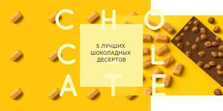 Sweets and chocolate pieces Image – шаблон для дизайна