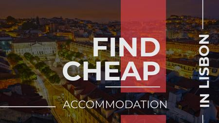 Cheap accommodation in Lisbon Offer Youtubeデザインテンプレート